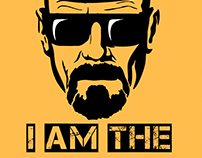 Breaking Bad - I am the one who Knocks wall art