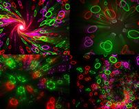 Multicolor Rings - VJ Loop Pack (6in1)