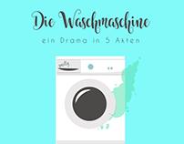 Die Waschmaschine - Drama in 5 Akten