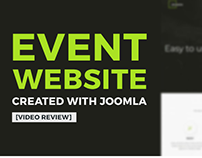 Building event website in 2 minutes - video review