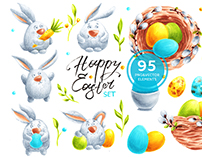 Happy Easter Set & FREE Poster