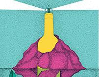 Terras Gauda Wine Poster