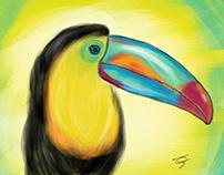 Arriscando na Pintura Digital