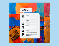 Daily UI - Sign Up