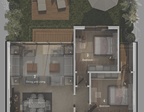 Blueprint and 3D Plans (MidTown SKY)
