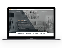 Website design for a furniture company