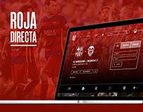 Roja Directa / Website redesign