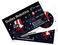 Robotics Team Business Card