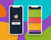 Juicy Peach (UX/UI Case Study)
