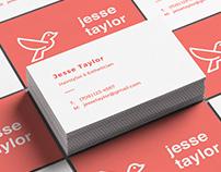 Jesse Taylor - Business Card