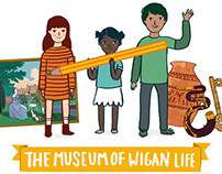 The Museum Of Wigan Life - Kids' Art Award Illustration