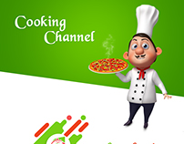 Cooking Chanel website template