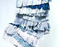 Structure experimentations / woven textile design