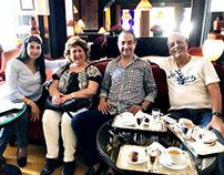 Mohamed Dekkak with Mr. Mohamed Abdellahi Yaha and othe