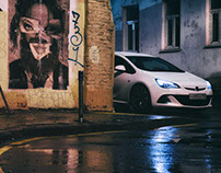 Opel Astra J OPC, Граффити