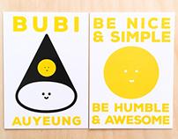 Bubi Namecard
