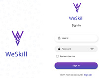 Mobile Application -We Skill
