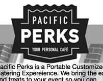 Pacific Perks Coffee Bar Ad