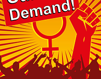 8th March International Women's Day Poster