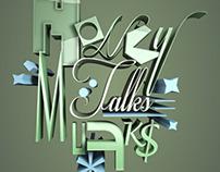 Money Talks Typography