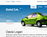 Dacia Web Site