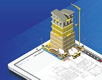 PlanGrid - Construction Productivity Infographic