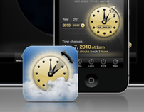 Spring Ahead & Fall Back, an iPhone and iPad app