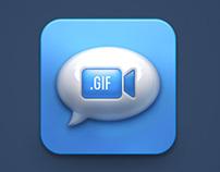 Gif Massage icon