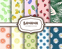 Banana - Stationery Design