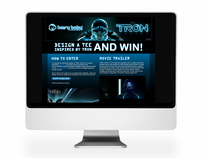 Disney TRON Competition and Microsite
