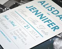 Wedding Invitation - Save The Date