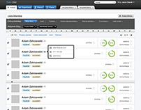Sato CRM - Web App Design