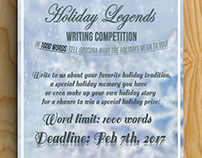 Winter Writing Competition Flyer