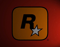 Animated logo Rockstar Games