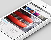 Posé - Mobile app concept