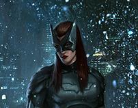 Catman & Batwoman by Mehmet Ozen ( Memed )