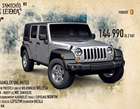 Jeep Icon / website, direct mail / 2010
