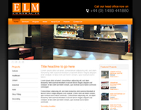 Elm Contracts web design & build