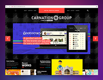 CarnationGroup website