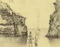 Split and island Vis ( Regatta in Croatia )