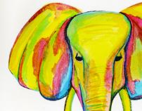 The elephant & the snake