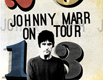 Johnny Marr 2013 Tour Merchandise & Posters