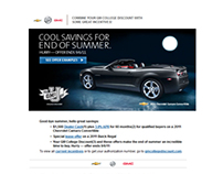 GM Discount Program Emails