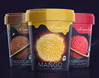 Cream Land Packaging Design