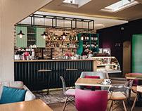 Paparazzi Cafe | Interior Design by BARDI