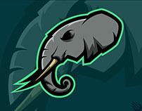 Elephant logo for Kryptid