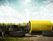 Titan Tire Rendering