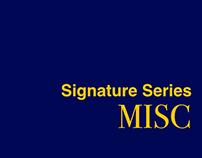 Signature Series: Misc