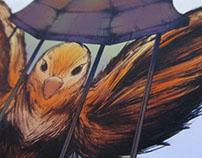 Birds Of Tokyo Poster Design