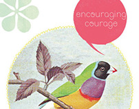 Encouraging Courage, zine I made